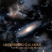 Airbrushing Galaxies by Paul Marcano and Andre Martin